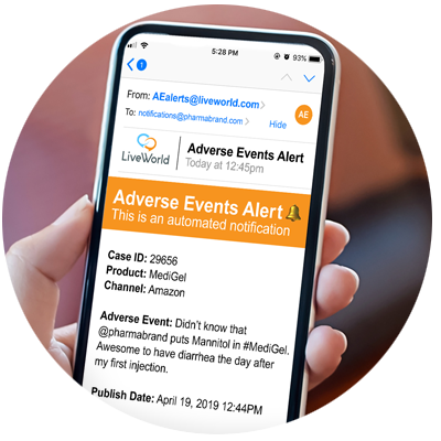 Adverse Events Mgmt - LiveWorld